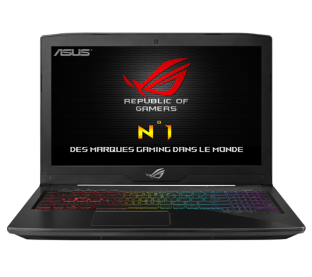 asus rog strix gl503vd test complet ordinateur portable les num riques. Black Bedroom Furniture Sets. Home Design Ideas