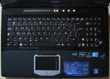 Asus G60J keyboard
