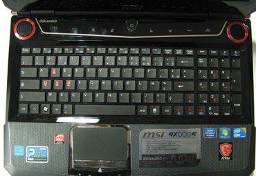 GX660R-064FR Clavier