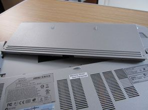 MSI X-Slim X600 battery