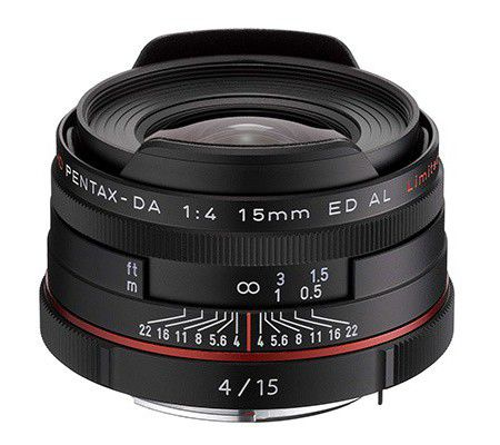 Pentax HD DA 15mm f/4 ED AL Limited