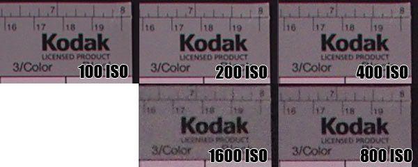 Pentax k200d iso