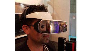 Intense Lunettes Cinema II: un écran géant abordable au bout du nez