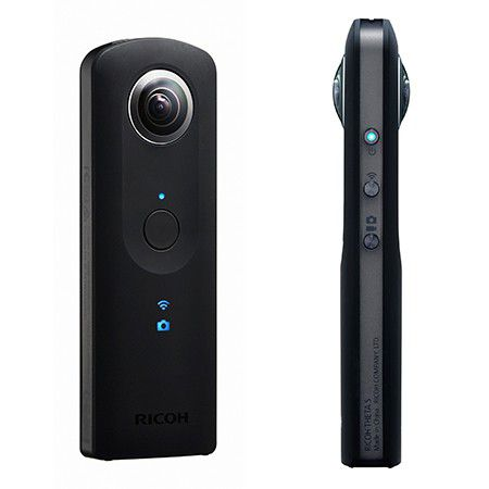 ricoh theta s test complet cam ra 360 les num riques. Black Bedroom Furniture Sets. Home Design Ideas