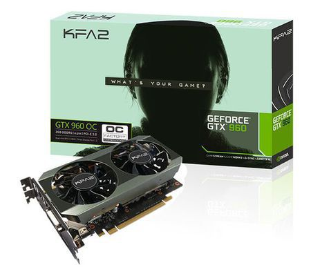 KFA² GeForce GTX 960 OC