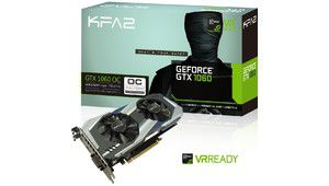Bon plan – KFA2 GeForce GTX 1060 OC 6 Go à 219,87 €