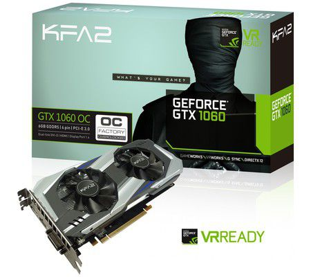 KFA² GeForce GTX 1060 OC 6GB