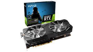 Bon plan – KFA2 GeForce RTX 2080 EX à 676,71€