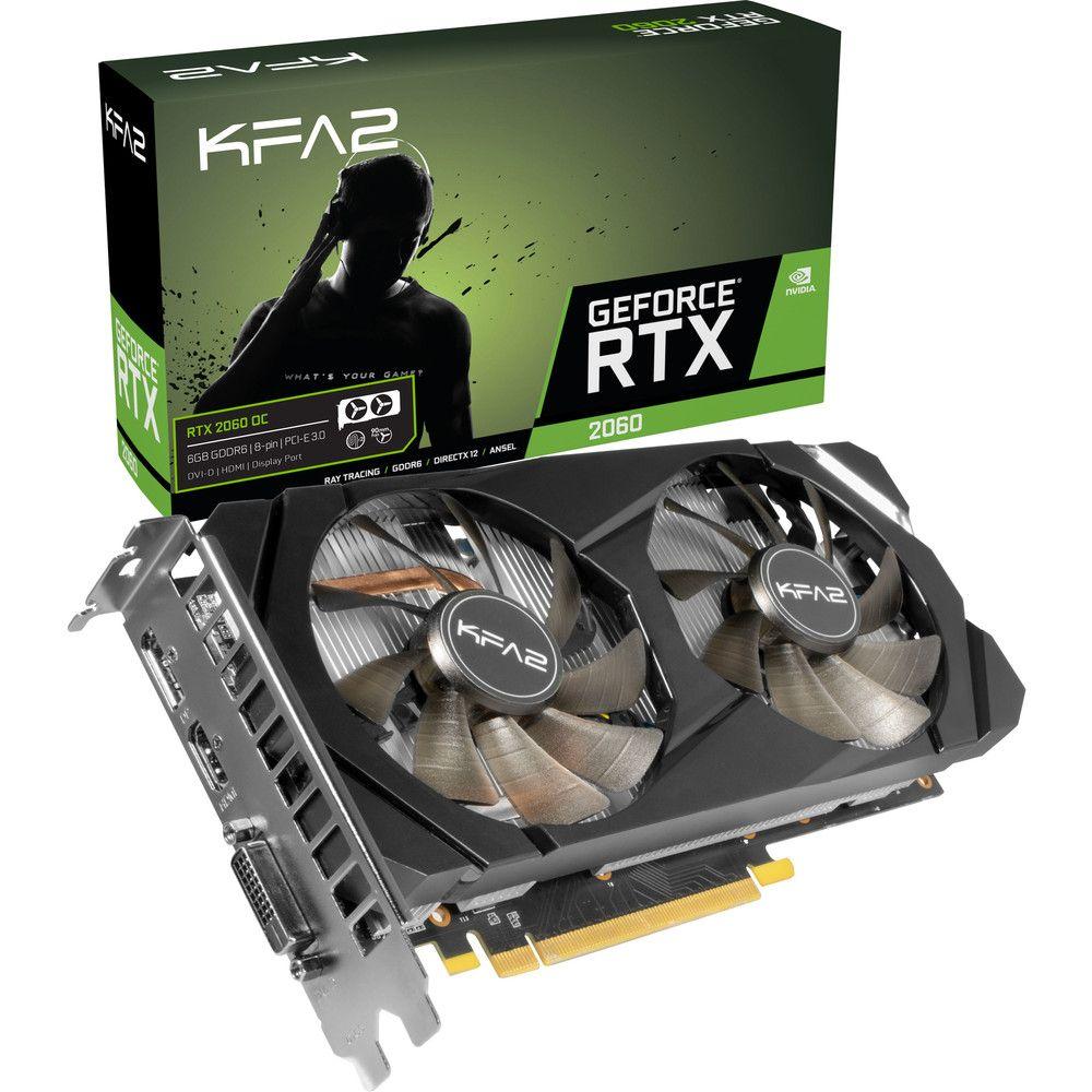 KFA² GeForce RTX 2060 1-Click OC : test, prix et fiche technique - Carte graphique - Les Numériques
