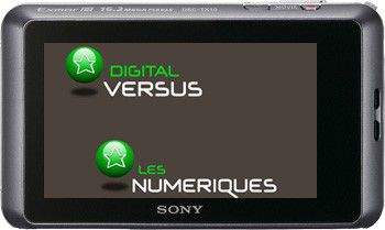 Sony TX10 test review dos de l'appareil