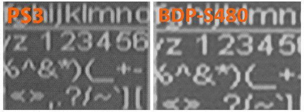 BDP S480 upscale