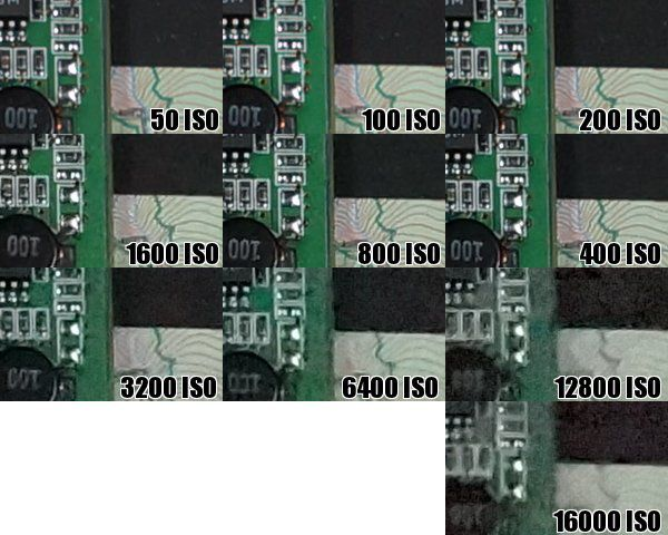Sony Alpha 77 iso 2
