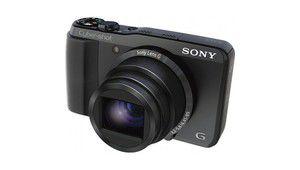 Solde épuisé - Sony HX20V marron + SDHC 8Go à 206,60€