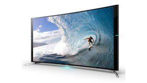 Sony S9000B, un TV UHD incurvé avec Triluminos et 4K X-Reality