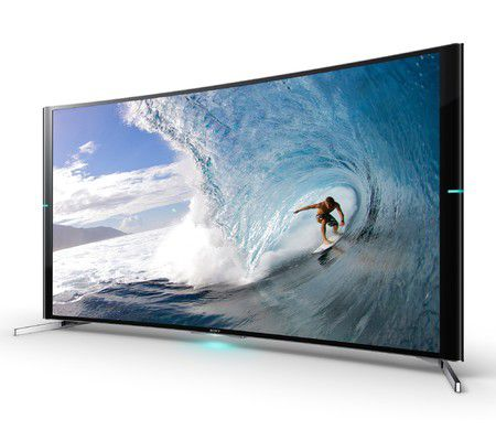 sony s9000b un tv uhd incurv avec triluminos et 4k x. Black Bedroom Furniture Sets. Home Design Ideas
