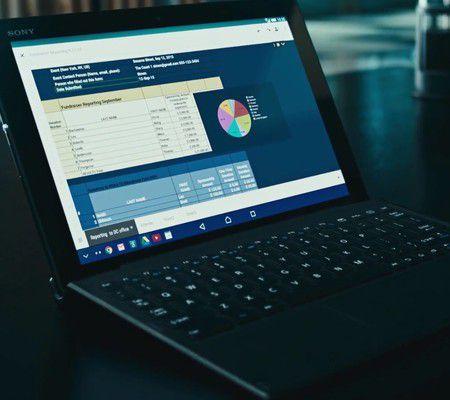 Sony Xperia Z4 Tablet avec clavier (Wifi)