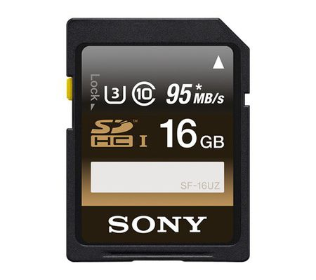 Sony SFUZ 16 Go SDHC UHS-I U3