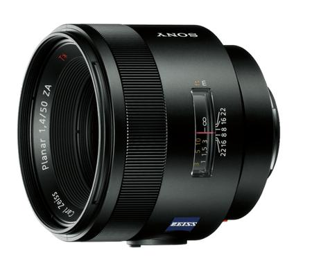Sony 50 mm f/1,4 Zeiss