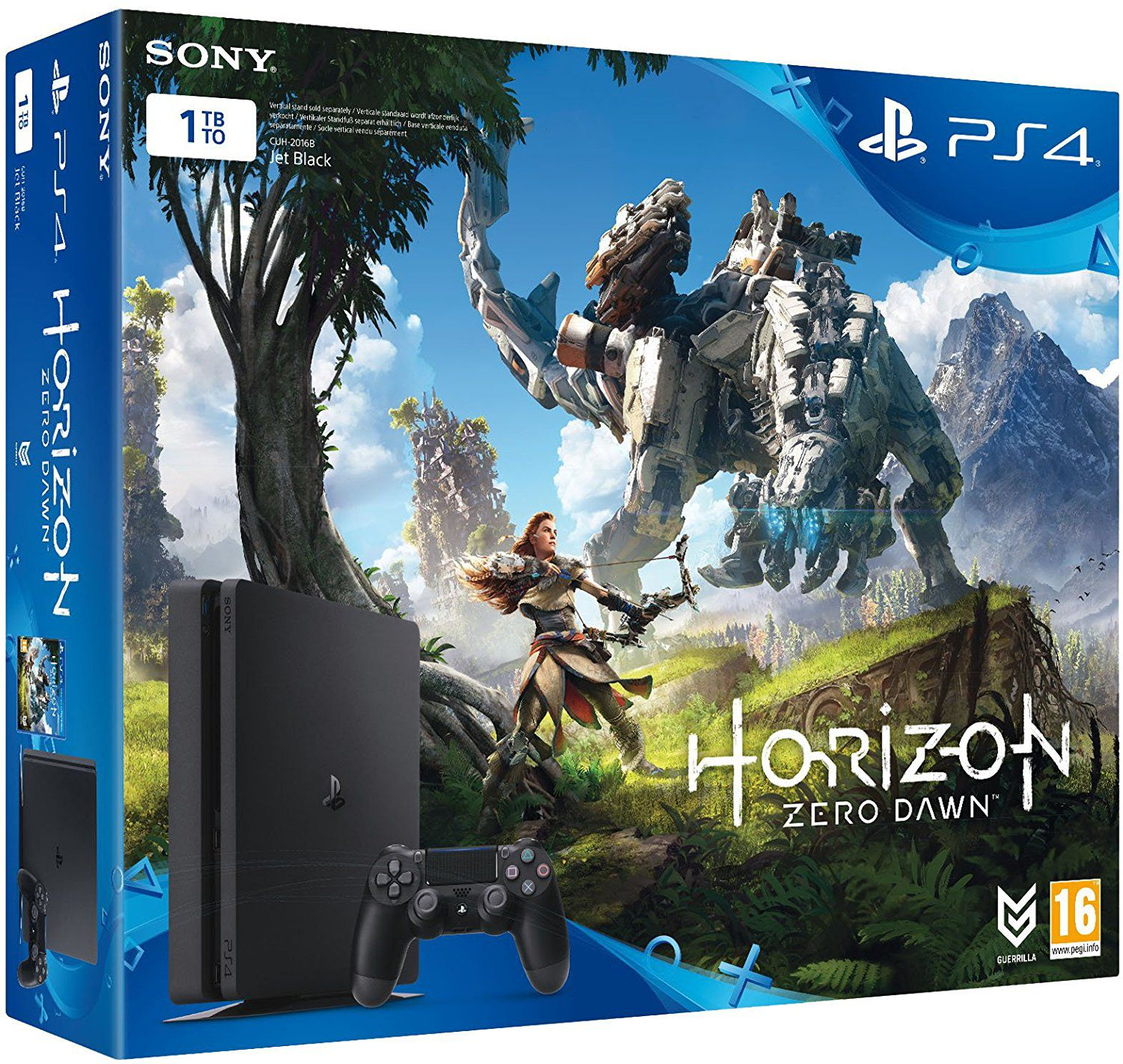 Sony Pack de Console PS4 1 To + Horizon Zero Dawn