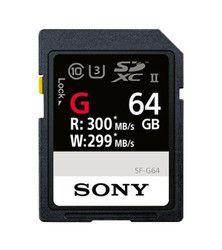Sony SF-G UHS-II SDXC 64 Go: presque la plus rapide du monde, idéale pour la 4K