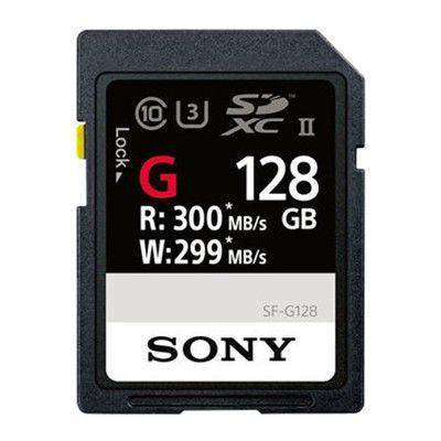 Sony SF-G UHS-II SDXC 128 Go: aussi rapide que stable, parfaite pour la 4K