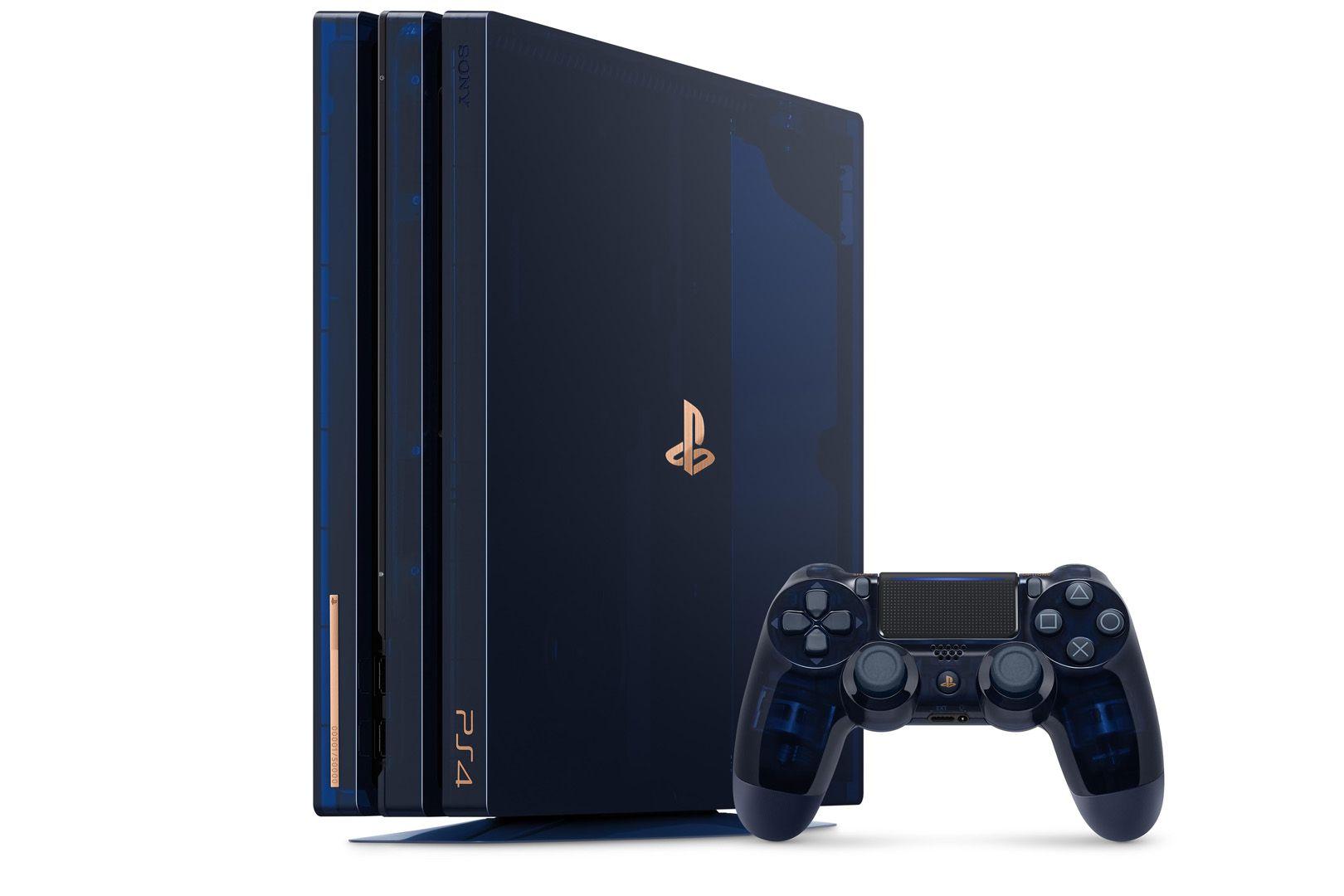 Une PS4 Pro Edition Limitée pour fêter les 500 millions de PlayStation