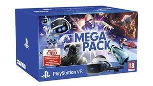 Un Mega Pack pour le PlayStationVR avec cinq jeux