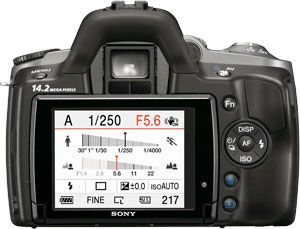 Sony Alpha 380 test review