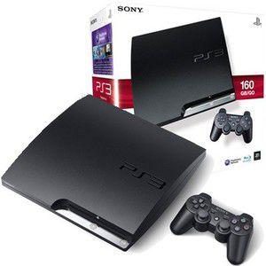 Sony PlayStation PS3 Slim 160 Go