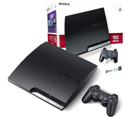sony playstation ps3 slim 160 go test complet lecteur blu ray les num riques. Black Bedroom Furniture Sets. Home Design Ideas
