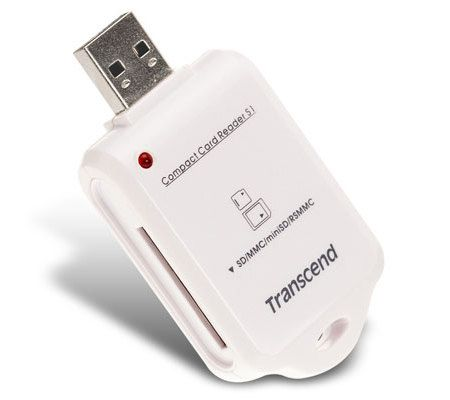 Transcend Compact Card Reader