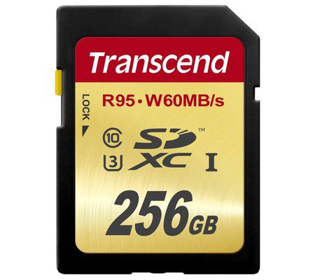 Transcend Ultimate SDXC 256 Go