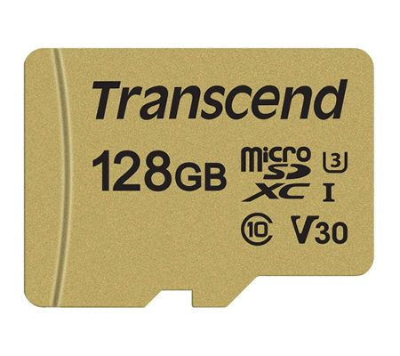 Transcend microSDXC/SDHC 500S 128 Go