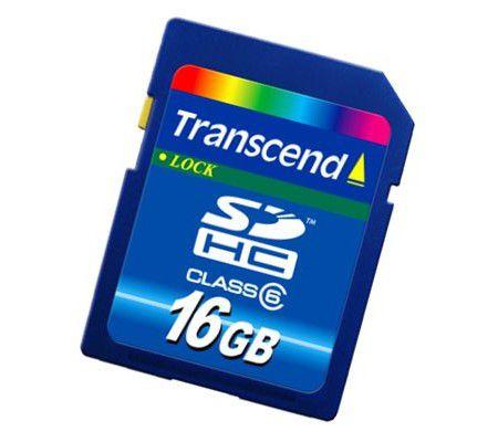 Transcend SDHC 16 Go Class 6
