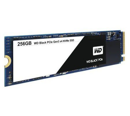 Western Digital Black PCIe 256 Go