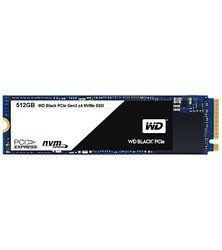 WD Black PCIe 512 Go, SSD NVMe de milieu de gamme