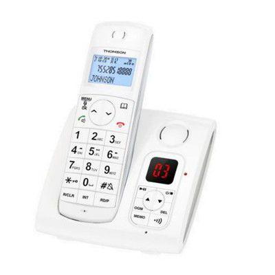 Thomson Jaspe TH550D2RWHT: plus répondeur que téléphone