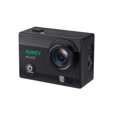 Aukey AC-LC2: une action-cam 4K/UHD classique mais pas fantastique