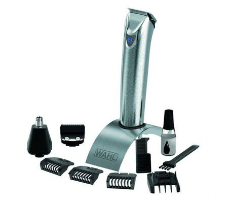 Wahl 09818-016 Stainless Steel Lithium Ion Trimmer