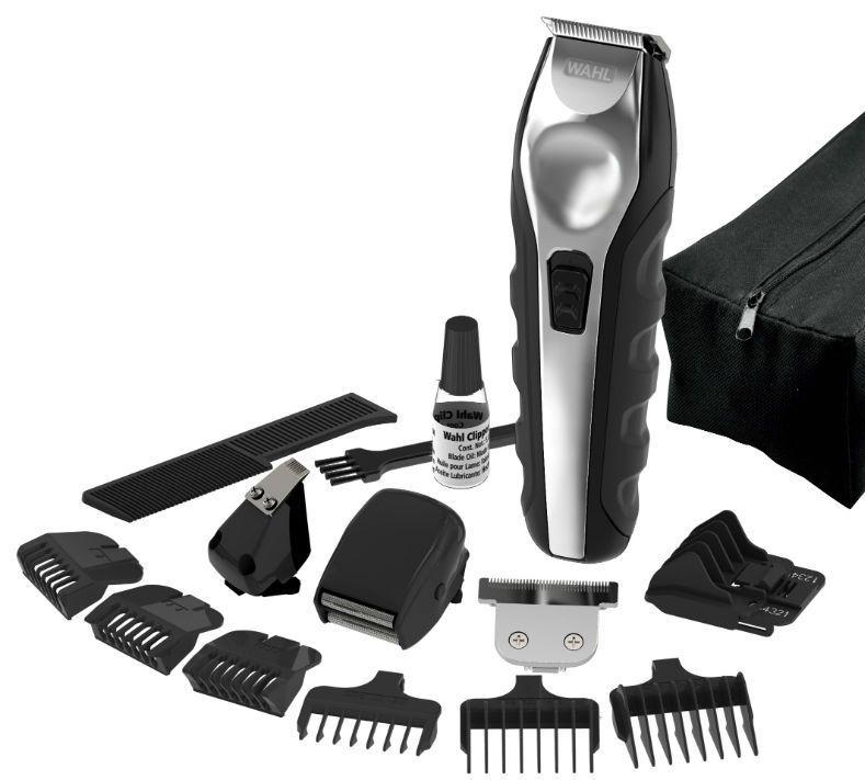 Wahl Multi-Purpose Grooming Kit, kit rasage et tondeuse, le kit et les accessoires