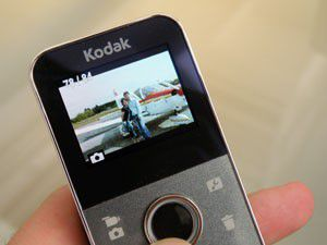 Kodak Playfull test review écran