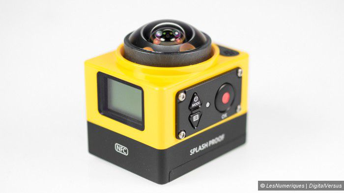 Kodak Pixpro SP360 LesNumeriques commande