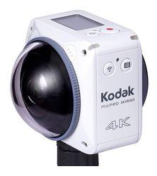 Caméra Kodak Pixpro 4KVR360: l'expérience 360° avec le savoir-faire Kodak