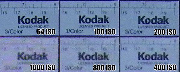 Kodak M420 montée ISO