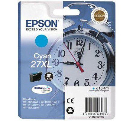 Epson Singlepack Cyan 27XL
