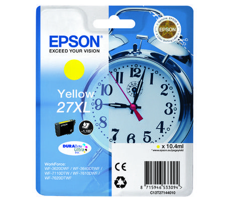 Epson Singlepack Yellow 27XL