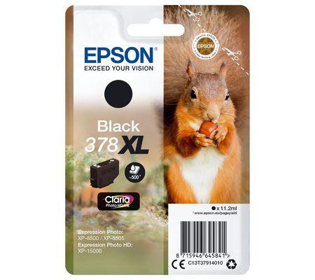 Epson 378XL - Noir