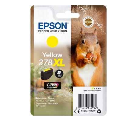 Epson 378XL - Jaune
