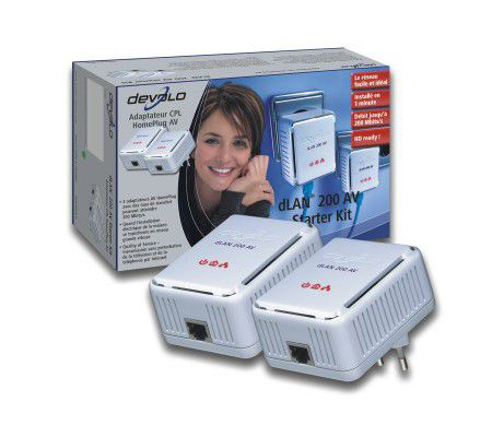 Devolo dLAN 200 AV Starter Kit