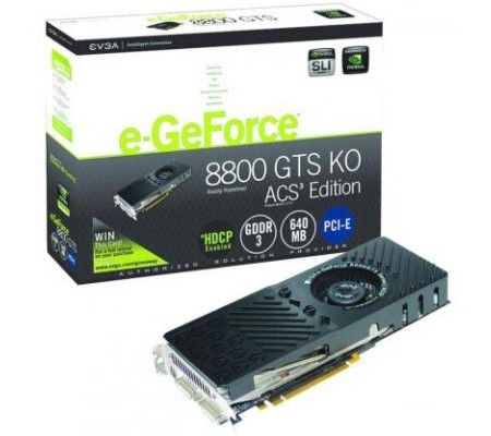 eVGA e-GeForce 8800 GTS 320 Mo ACS3 Edition